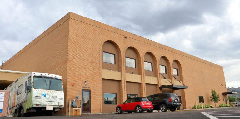 Exterior of Pocatello Free Clinic Location